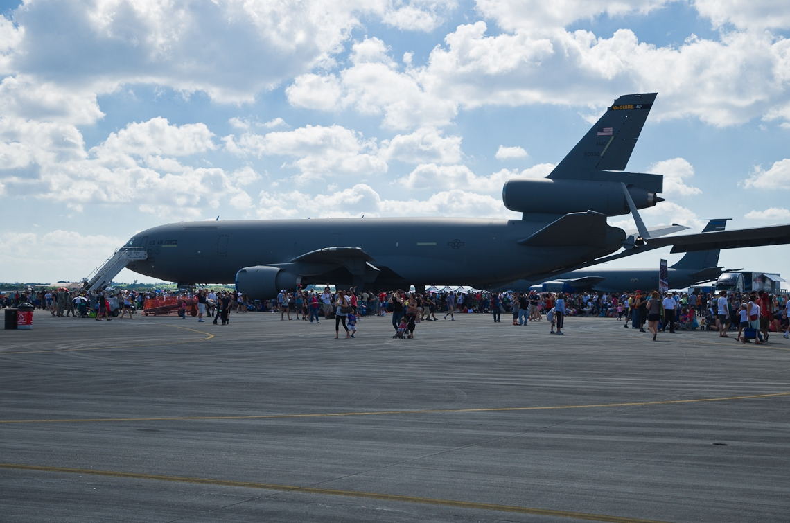 Авиашоу, Хоумстэд / Airshow, Homestead, FL, KC-10 Extender