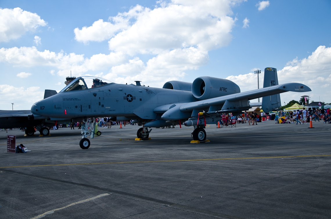 Авиашоу, Хоумстэд / Airshow, Homestead, FL, Fairchild Republic A-10 Thunderbolt II
