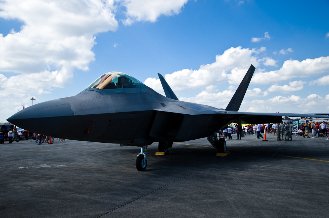 Авиашоу, Хоумстэд / Airshow, Homestead, FL, Lockheed Martin F-22 Raptor