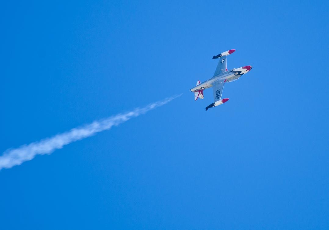 Авиашоу, Хоумстэд / Airshow, Homestead, FL, Lockheed T-33 Shooting Star