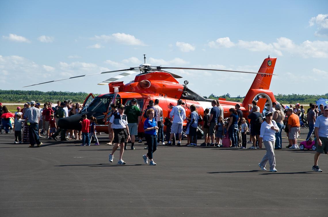 Авиашоу, Хоумстэд / Airshow, Homestead, FL, Eurocopter HH-65 Dolphin