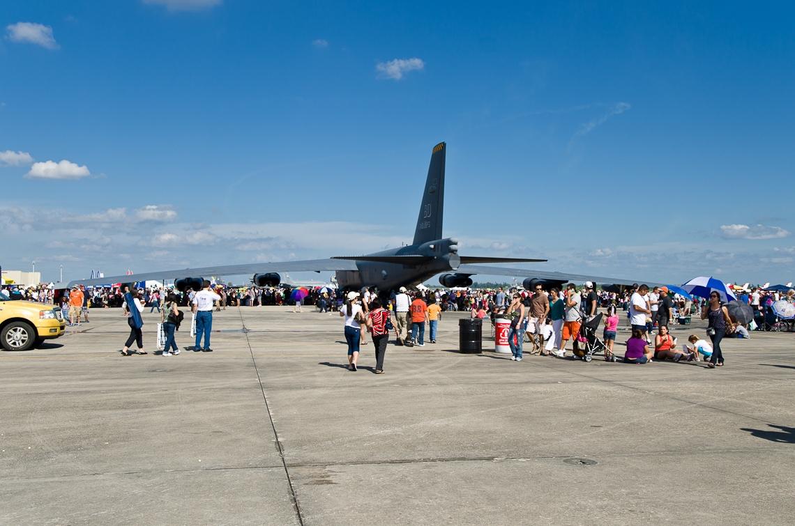Авиашоу, Хоумстэд / Airshow, Homestead, FL, Boeing B-52 Stratofortress