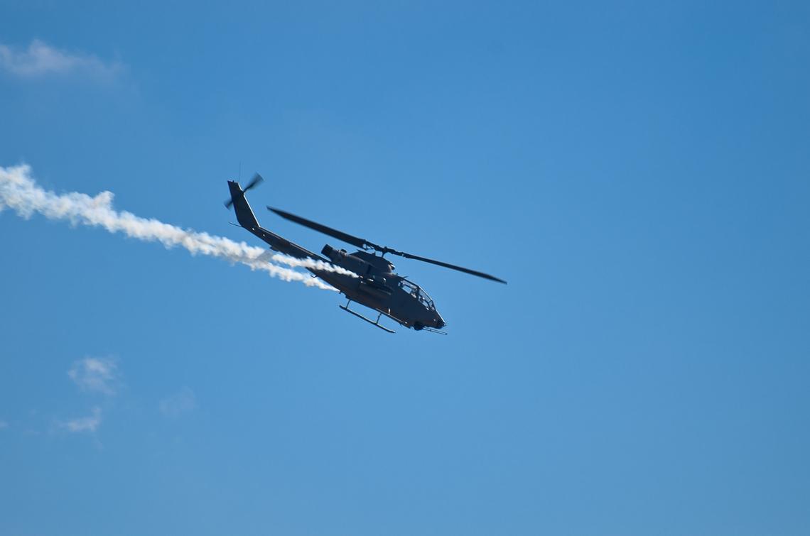 Авиашоу, Хоумстэд / Airshow, Homestead, FL, Bell AH-1 Super Cobra