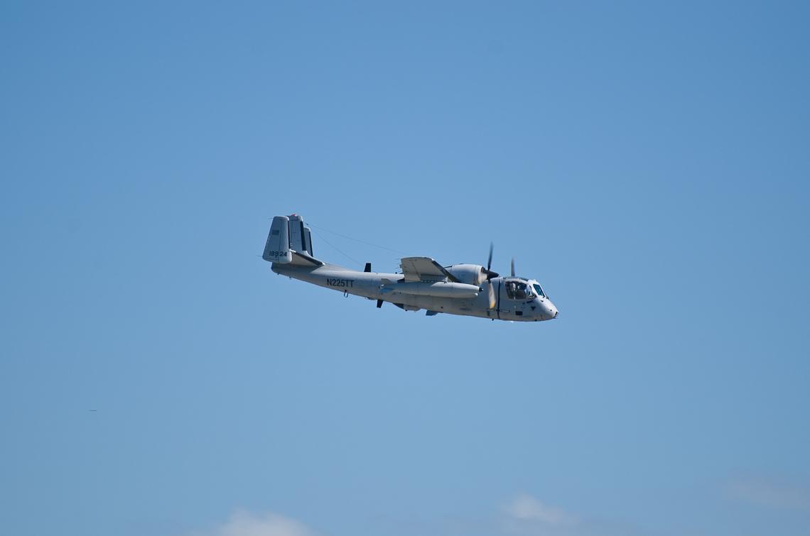 Авиашоу, Хоумстэд / Airshow, Homestead, FL, Grumman OV-1 Mohawk