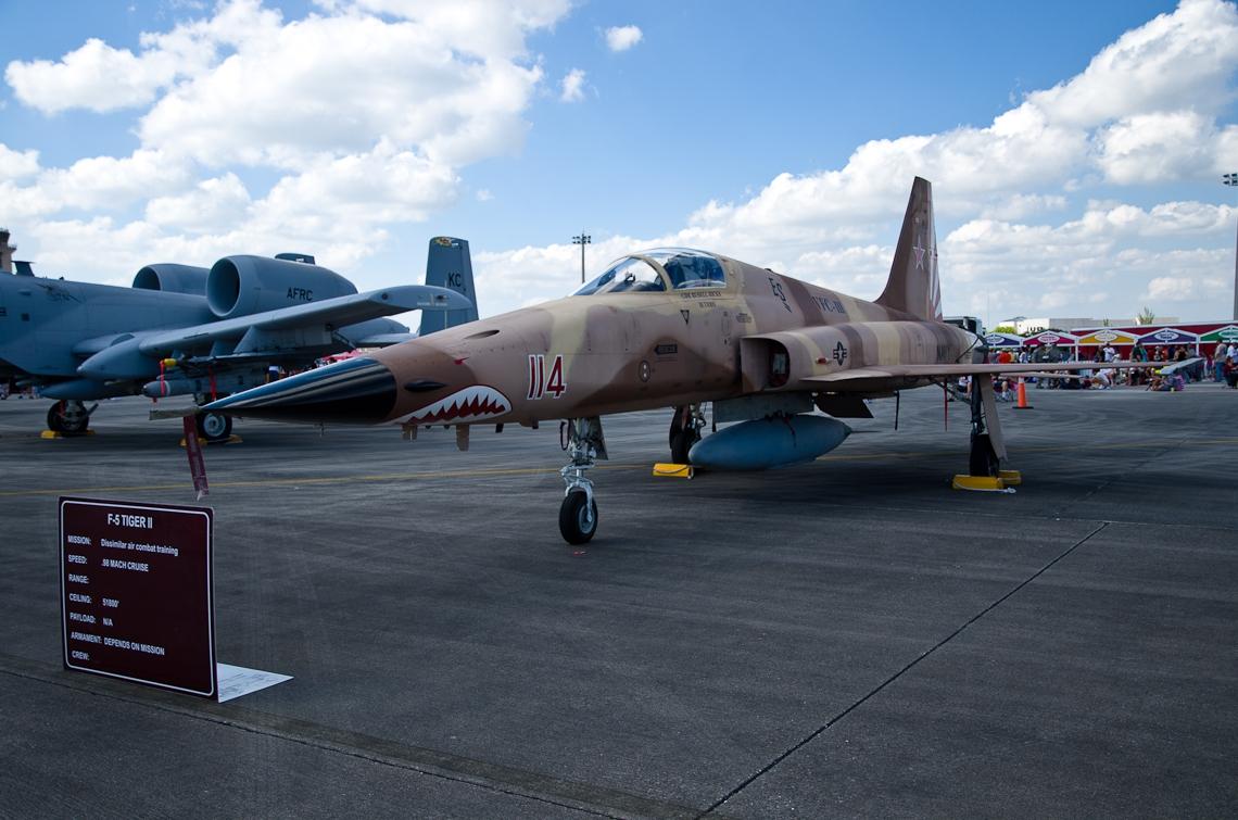 Авиашоу, Хоумстэд / Airshow, Homestead, FL, Northrop F-5