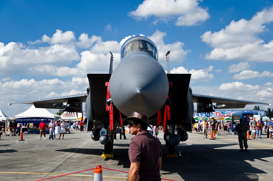 Авиашоу, Хоумстэд / Airshow, Homestead, FL, McDonnell Douglas F-15 Eagle