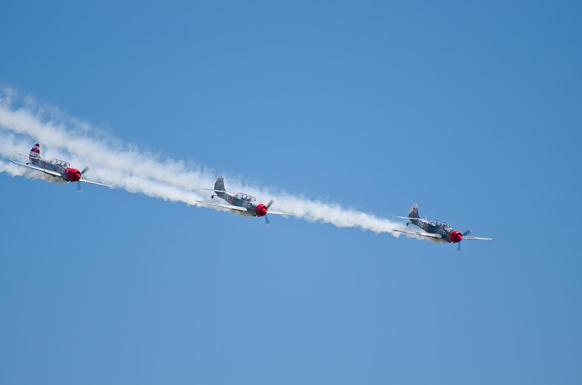 Авиашоу, Хоумстэд, Як-52 / Airshow, Homestead, FL, Yak-52