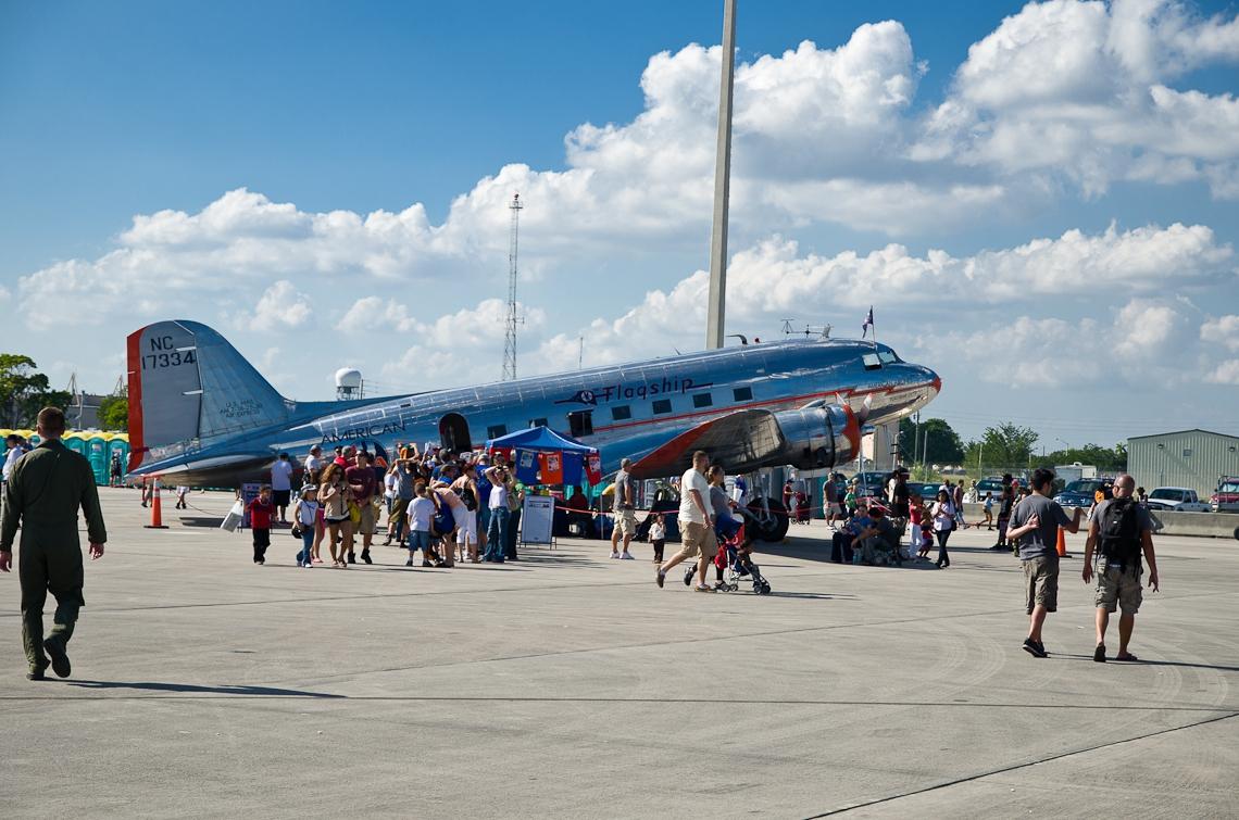 Авиашоу, Хоумстэд / Airshow, Homestead, FL, Douglas DC-3