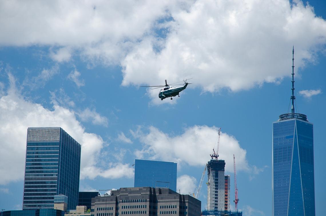 New York, President Helicopter
