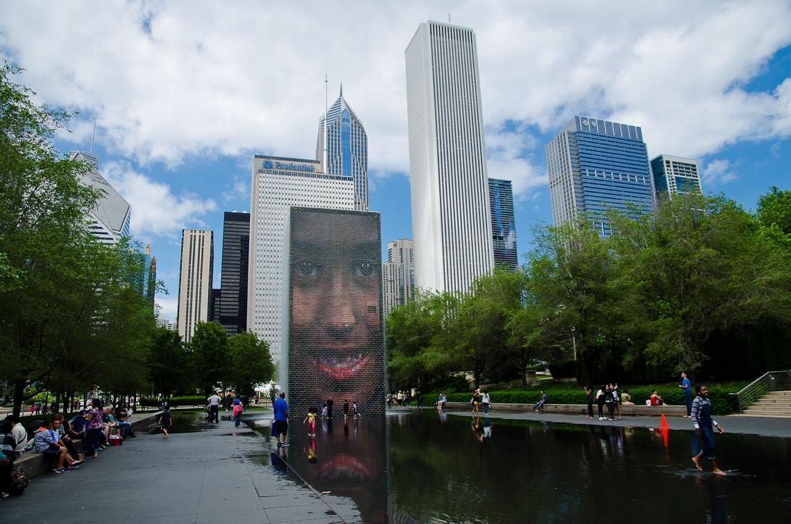 Chicago, Crown Fountain
