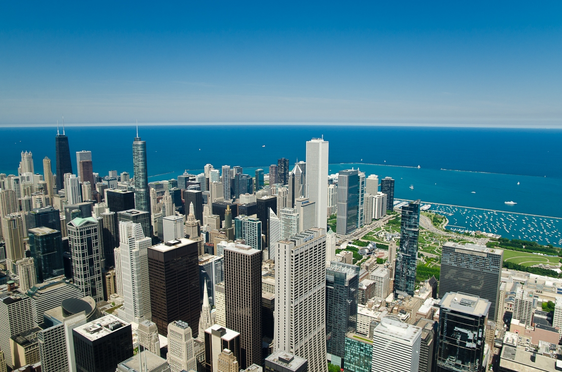 Chicago, Willis tower, Sears Tower, SkyDeck