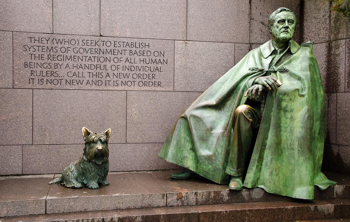Washington, D.C., National Mall, Franklin Delano Roosevelt Memorial
