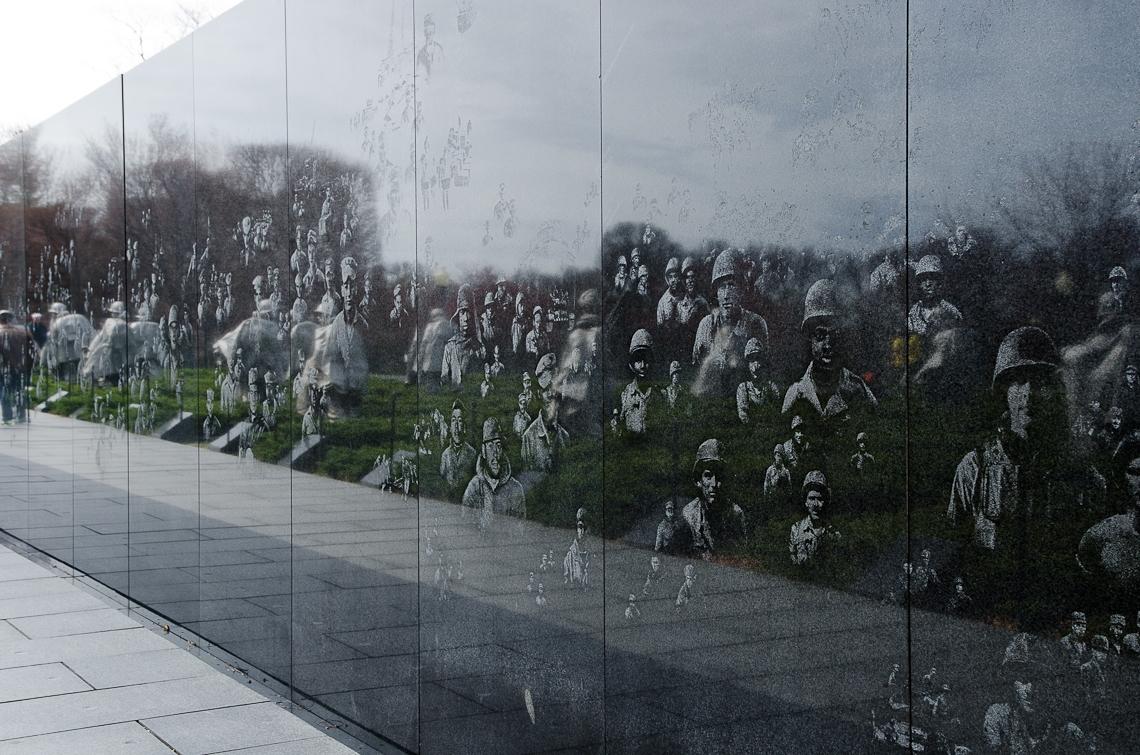 Washington, D.C., National Mall, Korean War Veterans Memorial
