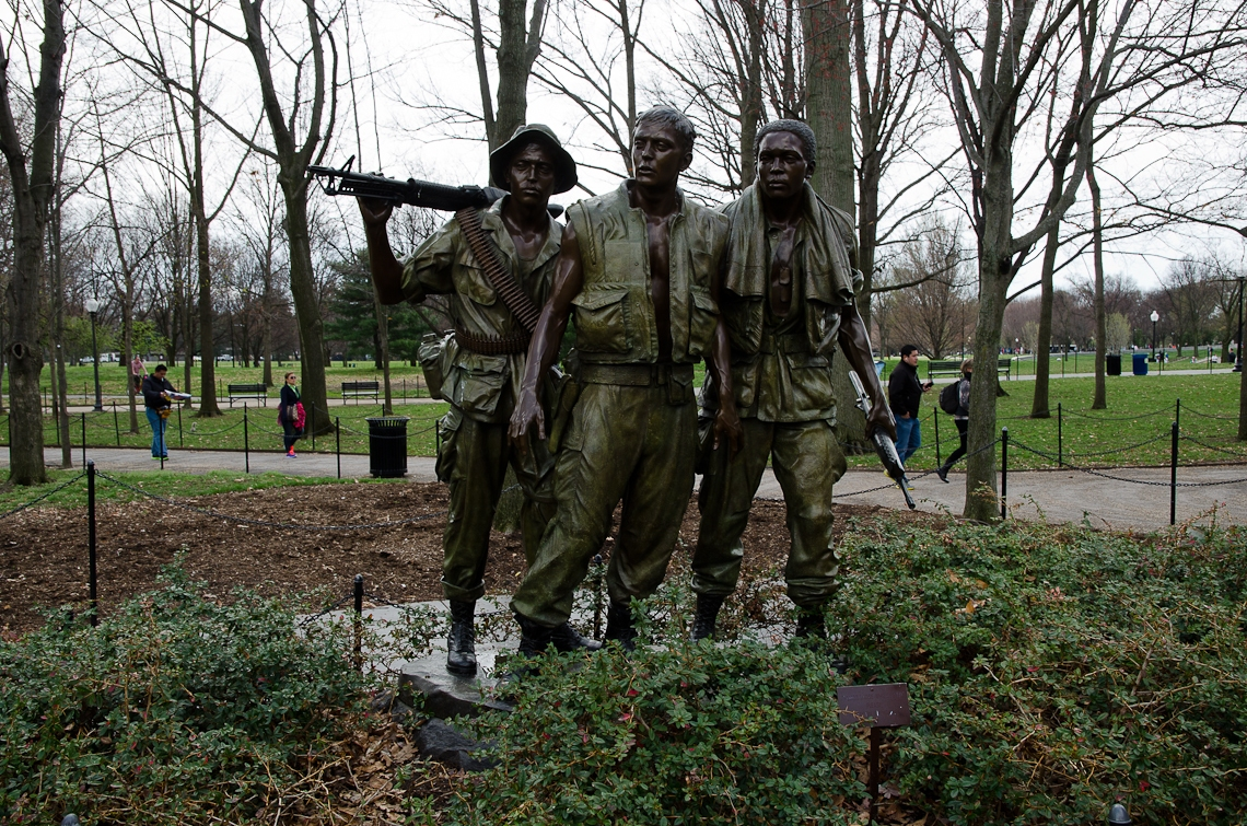 Washington, D.C., National Mall, The Three Soldiers