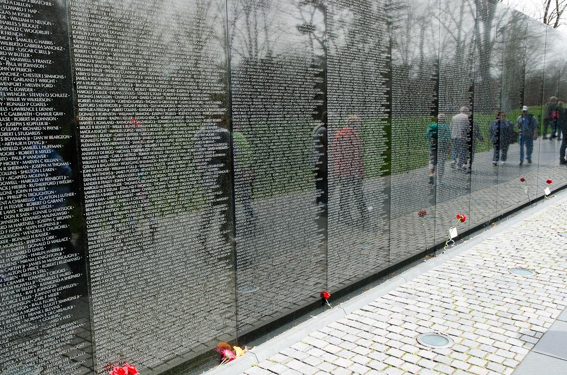 Washington, D.C., National Mall, Vietnam Veterans Memorial