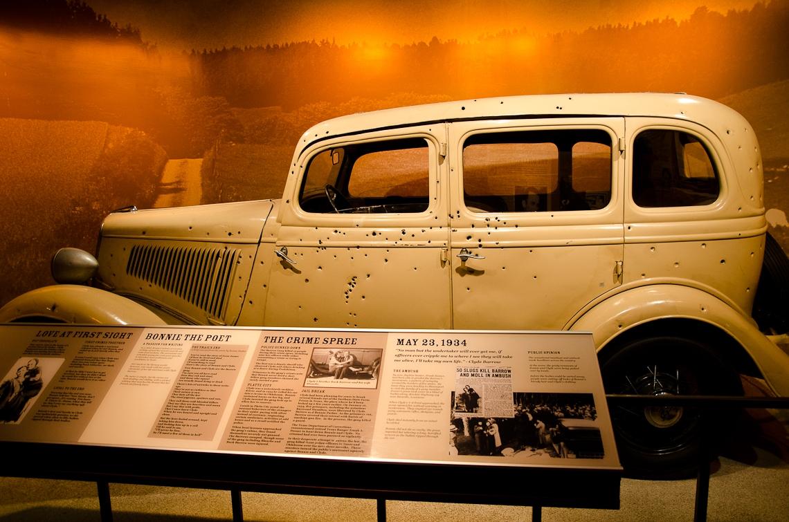 Washington, D.C., Crime Museum, Bonnie and Clyde car