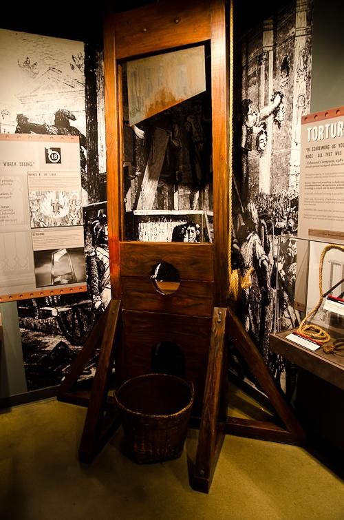 Washington, D.C., Crime Museum, Guillotine