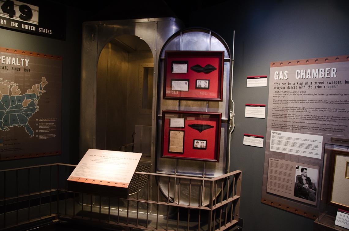 Washington, D.C., Crime Museum, Gas Chamber