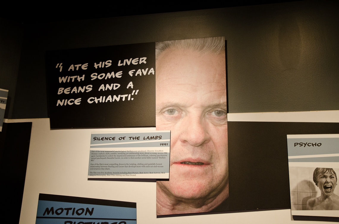 Washington, D.C., Crime Museum, Dr. Cannibal Lector