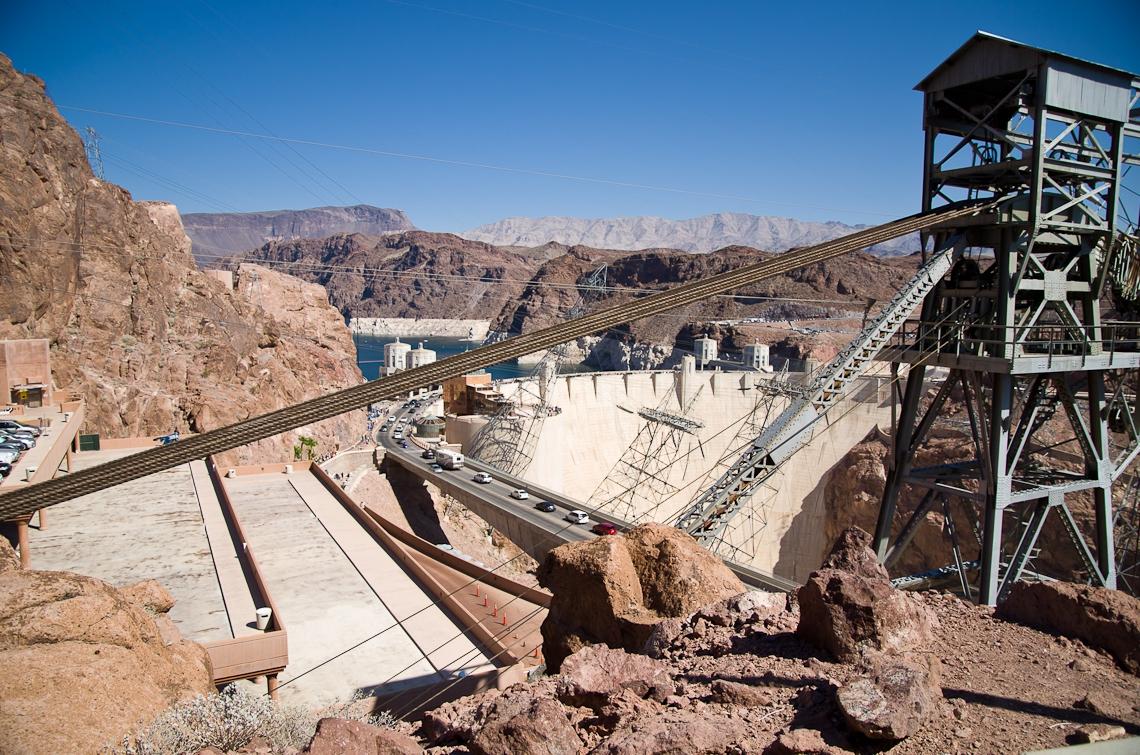 Аризона, Невада, дамба Гувера / Arizona, Nevada, Hoover Dam