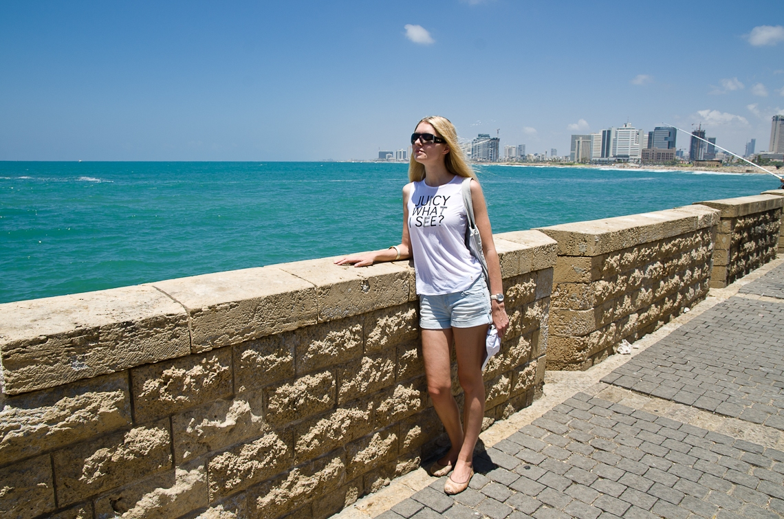 Israel, Tel Aviv, Jaffa, Embankment