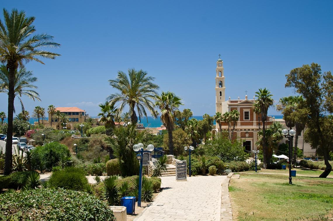 Israel, Tel Aviv, Jaffa, St. Peter's Church