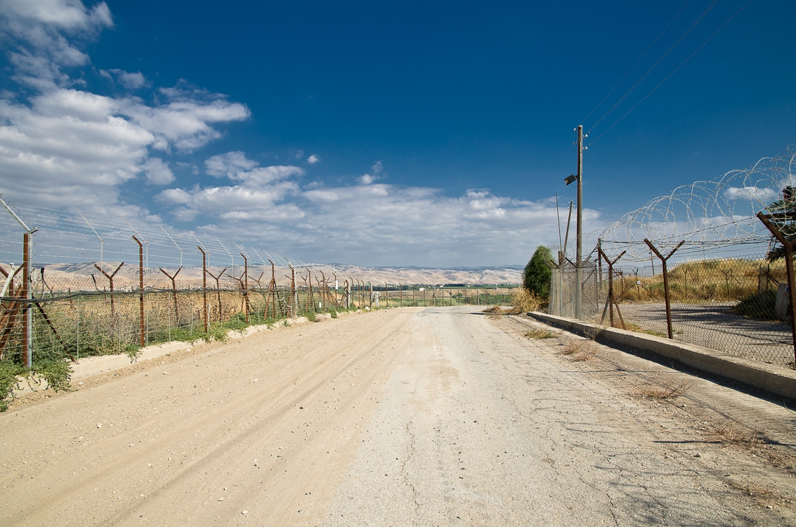 Israel, Jordan border