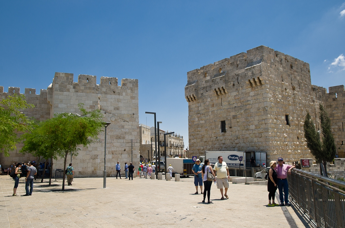 Israel, Jerusalem, Jaffa Gate, Яффские ворота