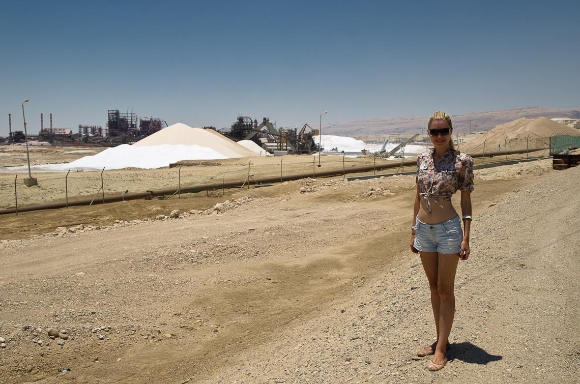 Israel, Dead Sea, Salt factory, Мертвое море, Соль