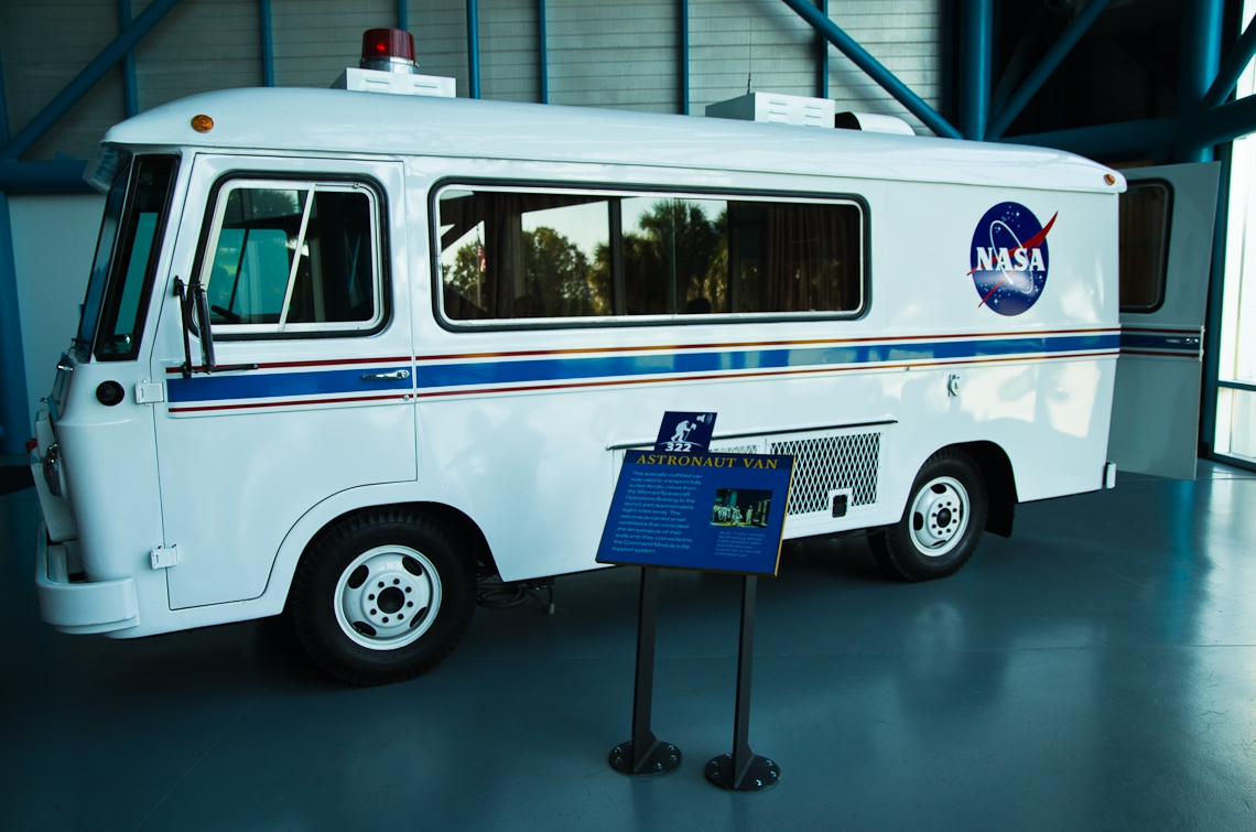 Kennedy Space Center, Capa Canaveral, Space Suttle, Astronaut van / Космический центр имени Джона Фицджеральда Кеннеди, мыс Канаверал, Шаттл