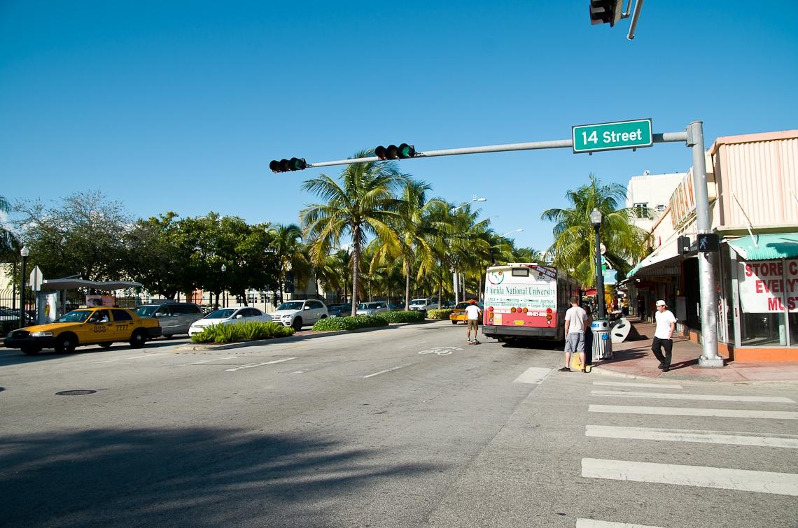 Miami beach, Washington ave