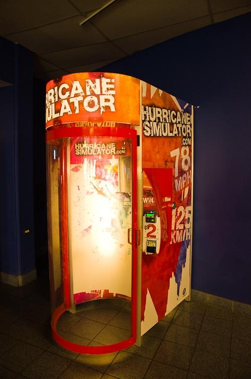 Miami, Museum of Science, Hurricane machine