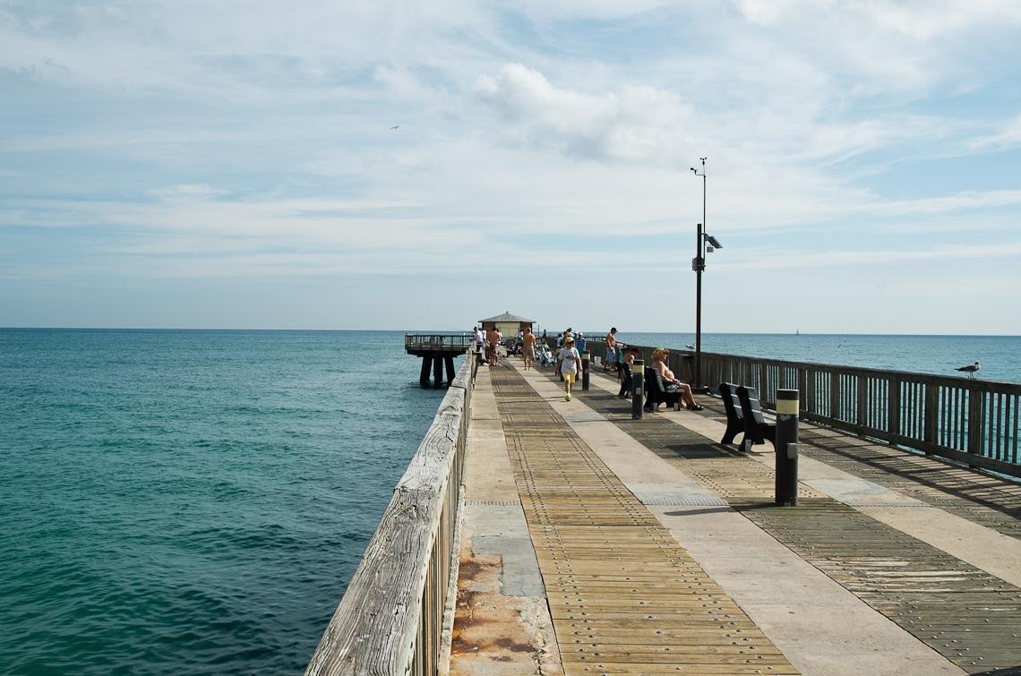 Pompano beach, pier