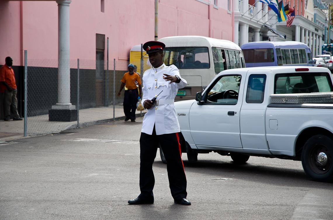 Bahamas, Nassau, Policeman / Полицейский
