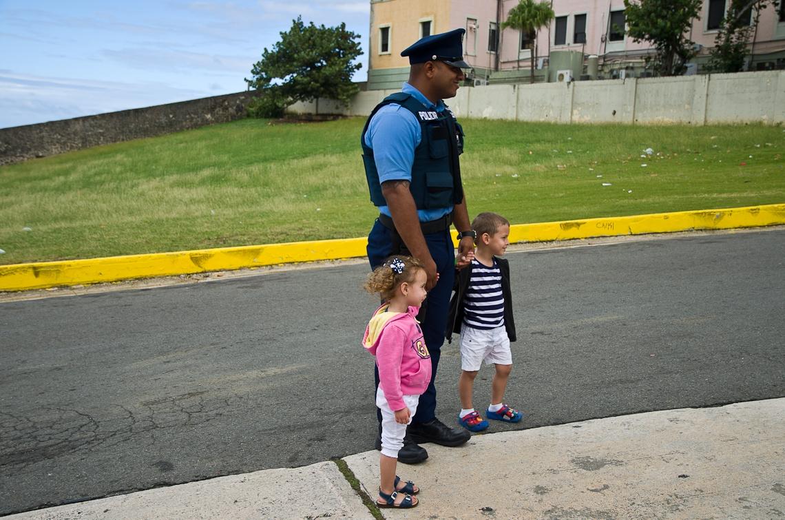 San Juan, Puerto Rico, Policeman