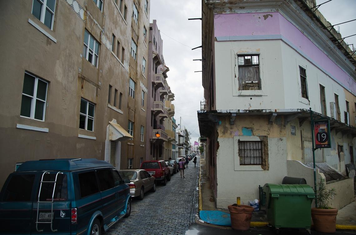 San Juan, Puerto Rico, San Francisco street