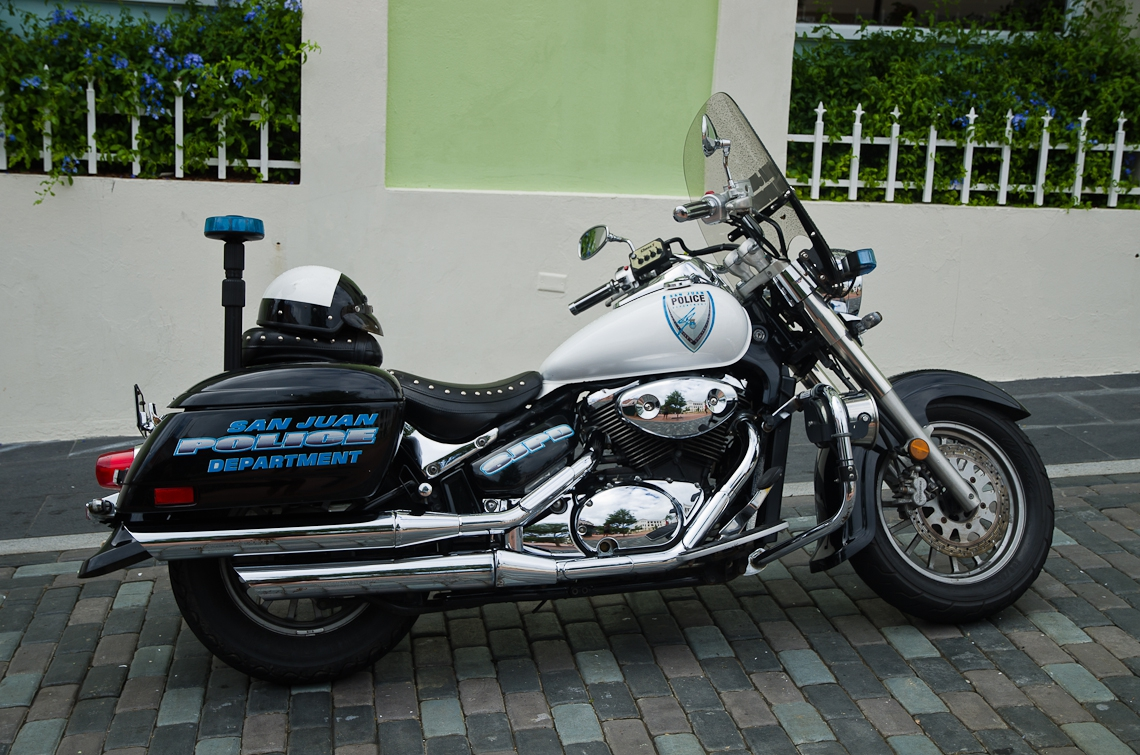 San Juan, Puerto Rico, Police bike