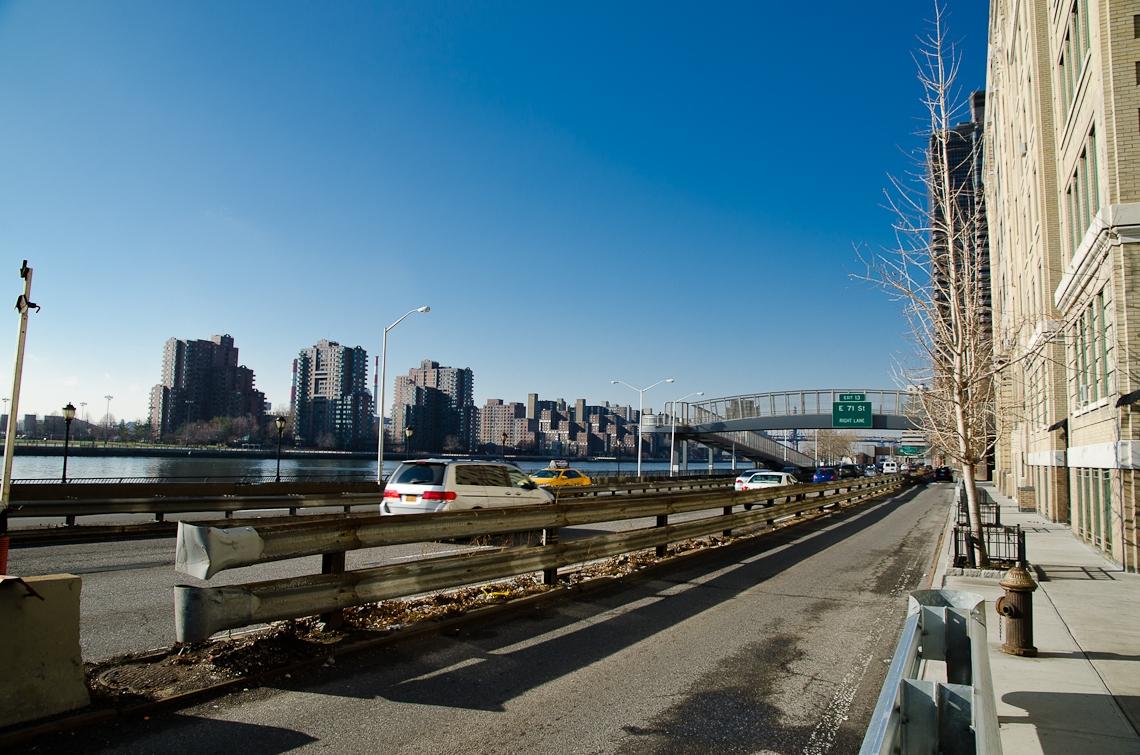 New York, Manhattan, Upper East Side, East River