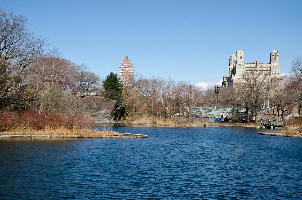 New York, Manhattan, Central Park, Turtle Pond
