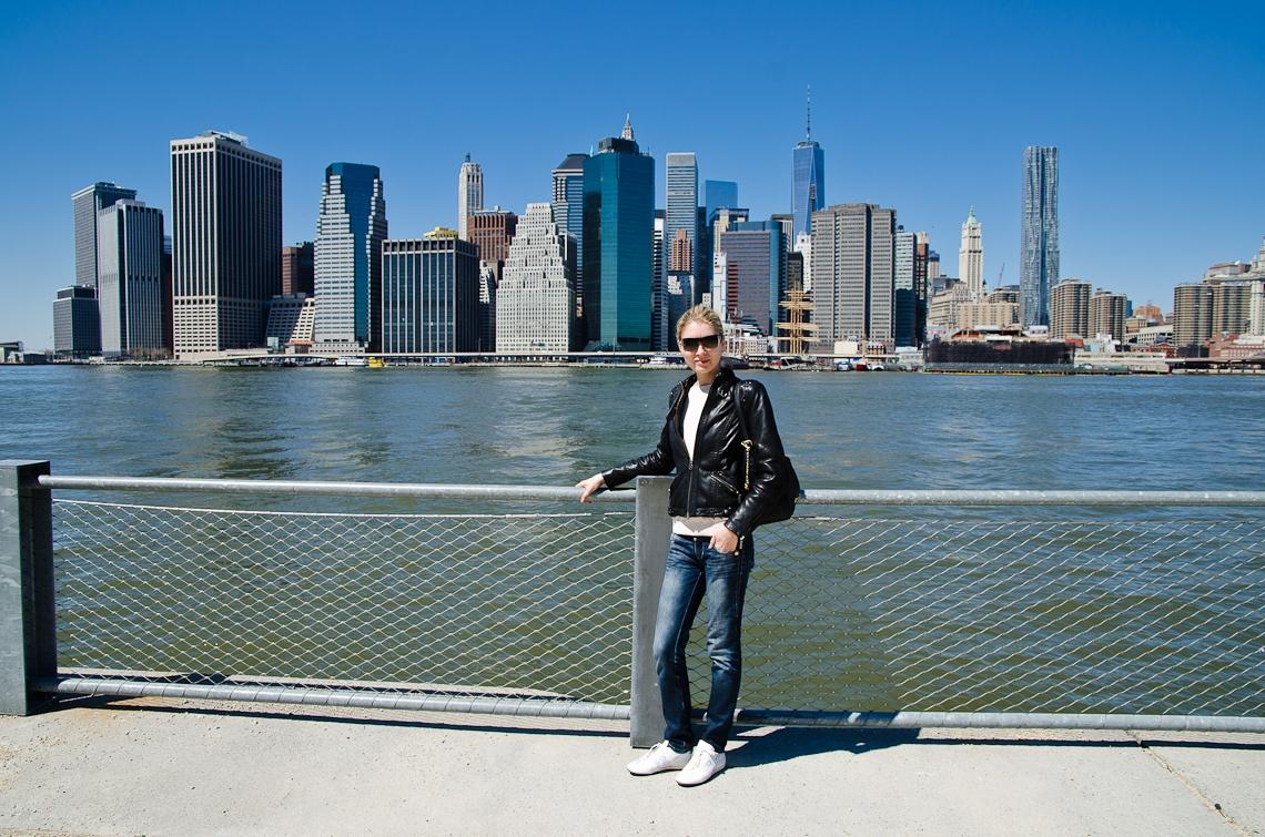 New York, Brooklyn, Manhattan view